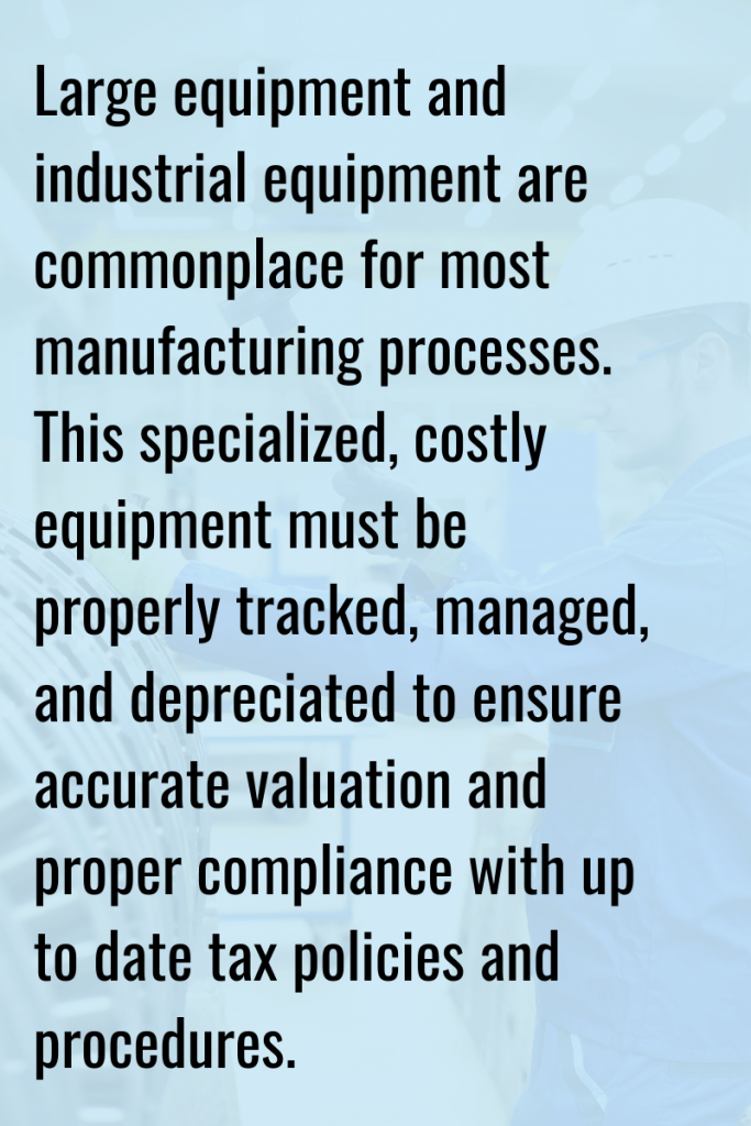 fixed asset audits for manufacturing